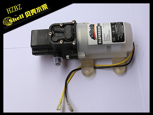 黑色智能標準正(zheng)護罩噴霧器水泵