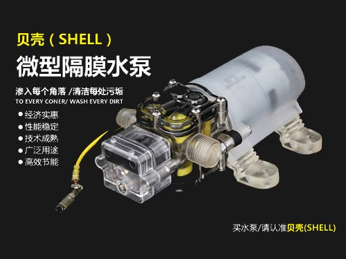 水晶(jing)透明(ming)微型隔(ge)膜變頻水泵
