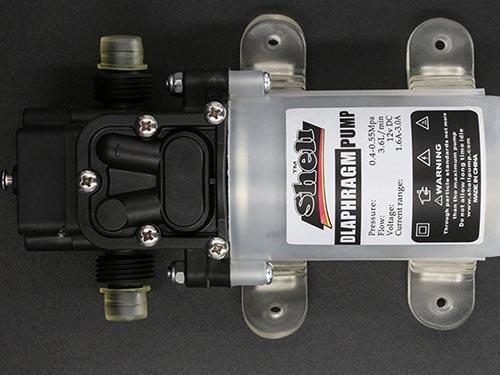 電動(dong)噴霧器專用高壓節能泵